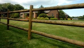 Round Rail Wood Fencing Fence Supply Online