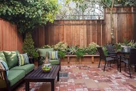 Concrete Patio Want A Privacy Fence Around It But What Type Patio Garden Design Patio Diy Patio Pavers