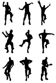 X9 Funny Fortnite Inspired Dancing Characters Stickers Decal Vinyl Ebay