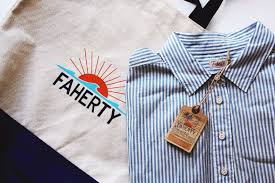newbury collection x faherty brand