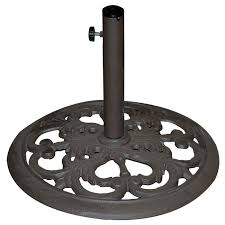 tropishade cast iron umbrella base 30