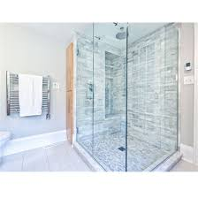 sliding tempered glass shower door