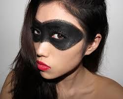 halloween makeup ideas superhero black