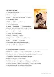 Movie The Rabbit Proof Fence Listening Activity English Esl Worksheets For Distance Learning And Physical Classrooms