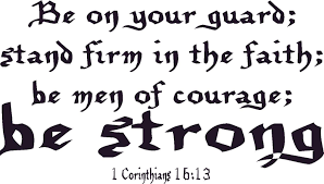 1 Corinthians 16 13 Vinyl Wall Art Be On And 38 Similar Items