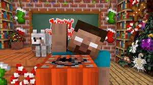 Phim hoạt hình minecraft - Minecraft Monster school - merry christmas