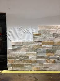 faux stone fireplace home depot