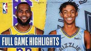 LAKERS at GRIZZLIES | FULL GAME HIGHLIGHTS