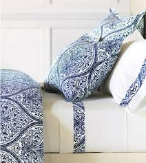 blue white damask sheets bedding
