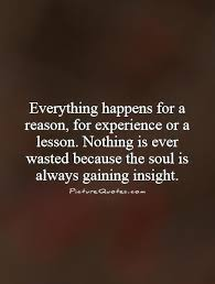 everything happens for a reason quotes com