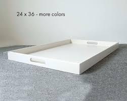 36 x 24 oversized ottoman tray extra