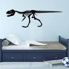 Isabelle Max Alvie Dinosaur Skeleton For Boys Room T Rex Skeleton Wall Decal Reviews Wayfair
