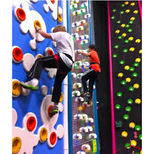 fixed competitive climbing wall