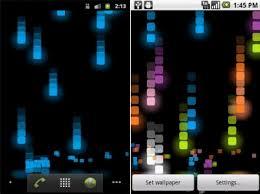pixel rain live wallpaper not hd but