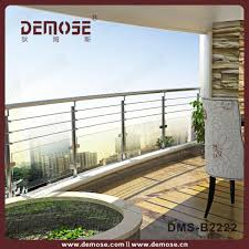 glass railing for balcony glass stone
