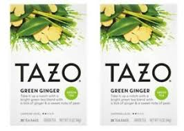 tazo green ginger green tea 20 tea bags