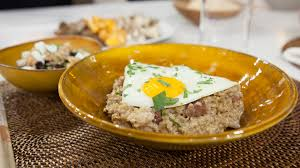 Savory Oats with Bacon, Mushrooms, Fried Egg - TODAY.com