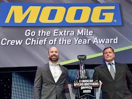 NASCAR Race Mom: Adam Stevens, Crew Chief for Kyle Busch and Joe Gibbs  Racing's #18 Toyota Camry, is MOOG® 'Go the Extra Mile' Crew Chief of the  Year