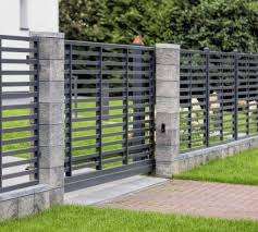 Modular Fence System Roma Classic Concrete Fences Producer Of Fences Posts Blocks And Hollow Bricks Joniec Concrete Fence Building A Fence Fence