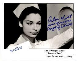 Arlene Martel as a Nurse in Morgue from The Twilight Zone ...