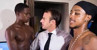 La petite blague de Fabrice Éboué à Emmanuel Macron - Le Point
