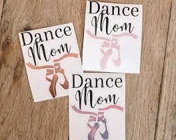 Dance Mom Decal Etsy