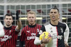 Calcio in tv oggi e stasera: Juventus-Milan in chiaro, orario e ...