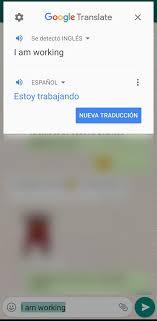 así puedes traducir tus mensajes de