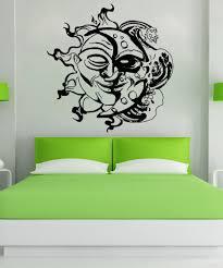 Vinyl Wall Decal Sticker Sun And Moon Design Os Aa1727 Stickerbrand