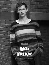 Max Snippe is the Dutch mama's boy who has walked for Armani and ...