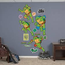 Affordable Fathead Classic Teenage Mutant Ninja Turtles Turtle Power Collection Vinyl Decals Raymond Saleh Dfert