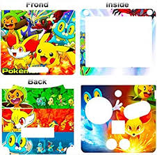 Amazon Com Pokemon Xy X Y Go Cool Skin Vinyl Sticker Cover Decal For Nintendo Gba Sp Video Games