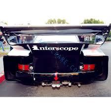 Porsche Interscope Rear Wing Spoiler Decal Sticker Straight
