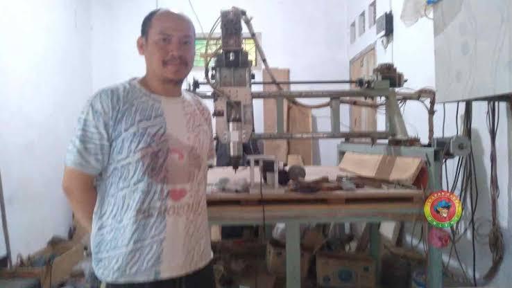 Mesin Ukir Banjar