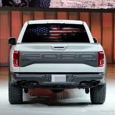 2020 Flag Eagle Color Rear Window Decals Pickup Truck Suv Rear Windshield Auto Anti High Beam Decals From Letong168 20 1 Dhgate Com