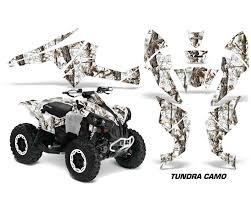 Amr Racing Decal Graphics Kit Quad Wrap Tundra Camo Can Am Renegade 500 X R 800x R 1000 Cam Renegade 500 800 1000 Tc