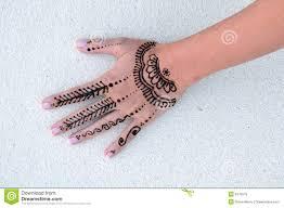 Indyjski Henny Tatuaz Mokre Obraz Stock Obraz Zlozonej Z Ethnic