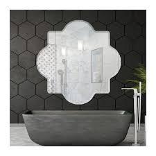 atlantis 30 x 30 frameless beveled mirror