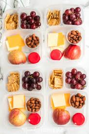 diy cheese and ers lunchables