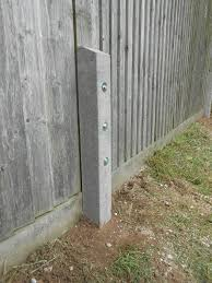 Fence Post Repair Ashford Fencing And Gardening Services