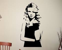 Taylor Swift Wall Decal 30 Quot X 20 Quot Wall Decals Wood Burning Patterns Taylor Swift