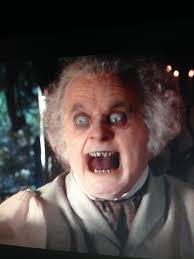 This face still scares me. Every time. : lotr