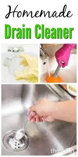 homemade drain cleaners thriftyfun