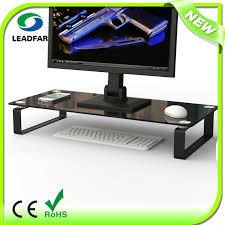 glass acrylic plastic monitor stand