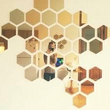ikea honefoss 2 tone colored hexagon