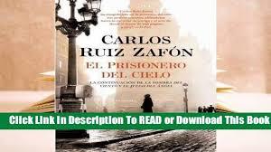 Online El Prisionero del Cielo For Kindle - video dailymotion