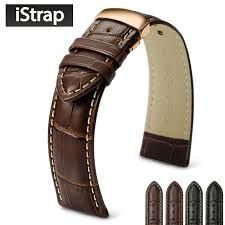 istrap 18mm to 24mm genuine leather
