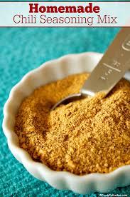 homemade chili seasoning mix crock