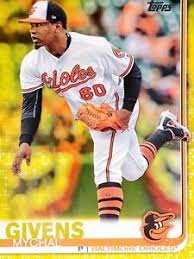 2019 Topps Walgreens Yellow Mychal Givens #337, Baltimore Orioles ...
