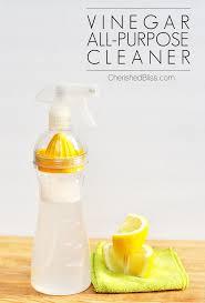 vinegar all purpose cleaner works on